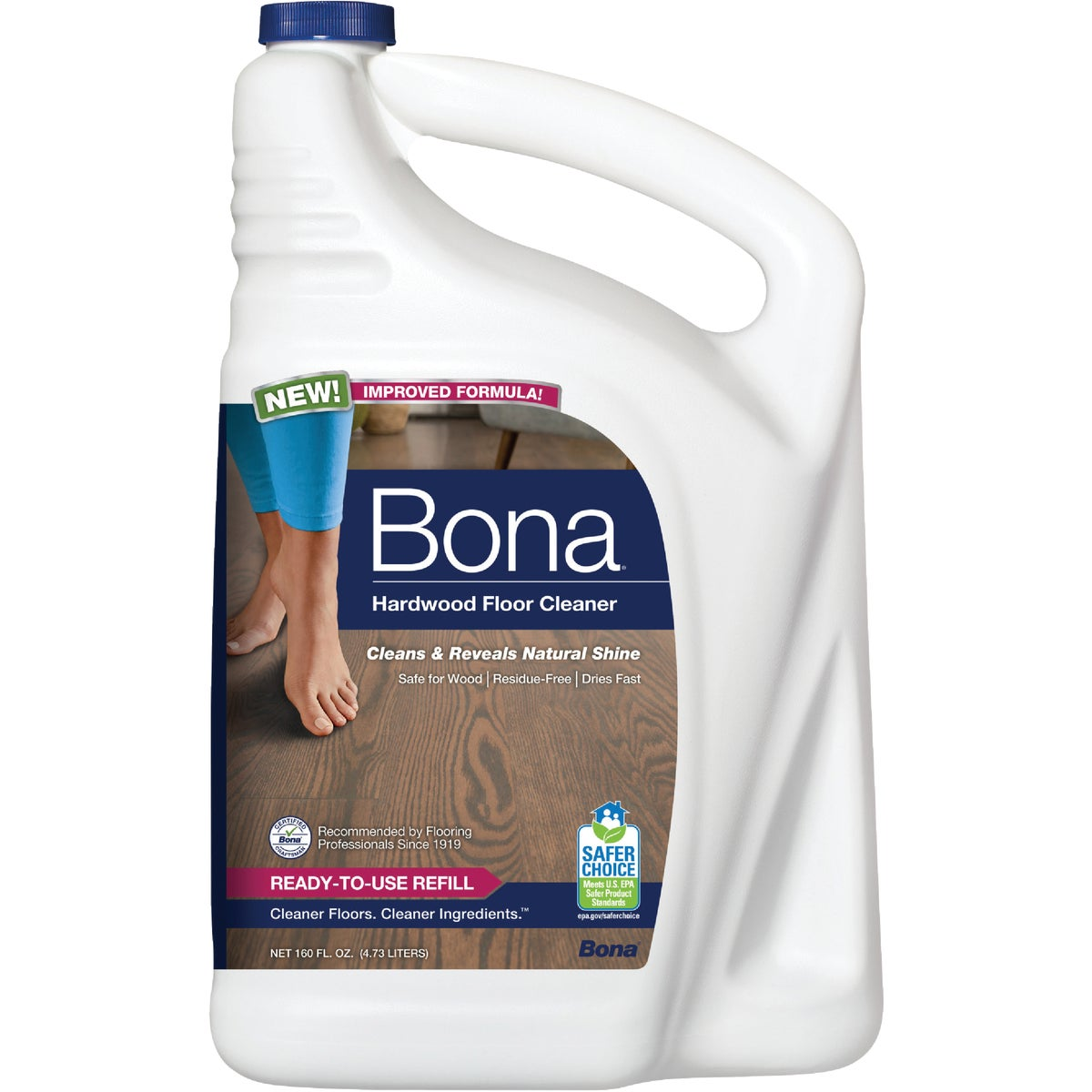 160OZ WOOD FLOOR CLEANER - WM700056001 by Bonakemi Usa Inc