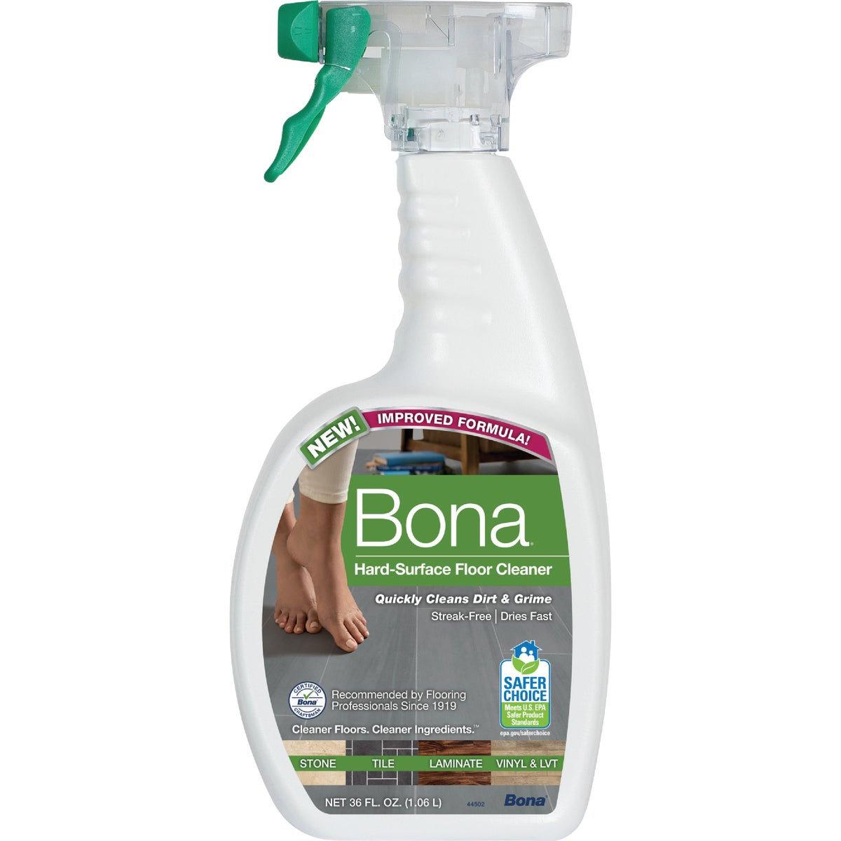 36OZ STL FLOOR CLEANER - WM700059002 by Bonakemi Usa Inc