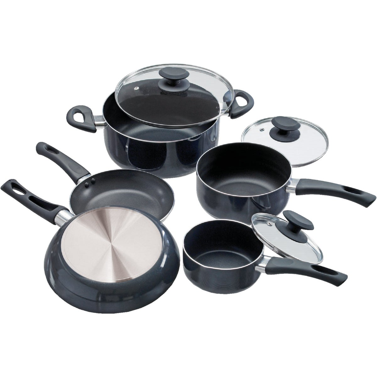 8PC COOKWARE SET - EEGY-1208 by Epoca Inc