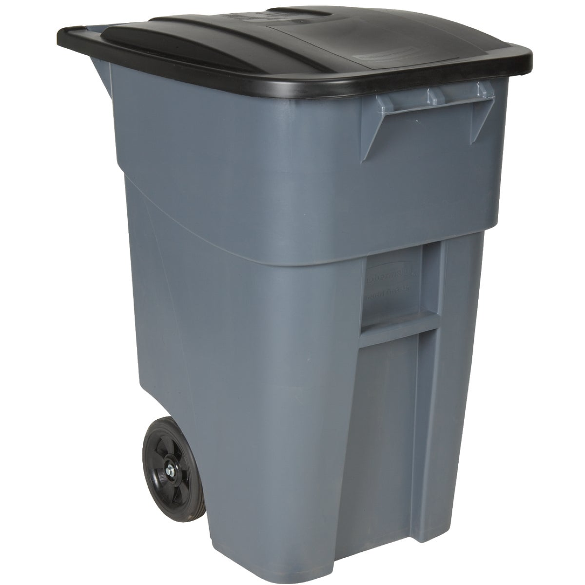 50GAL PLASTIC TRASH CAN - FG9W2700GRAY by Rubbermaid Comm Prod