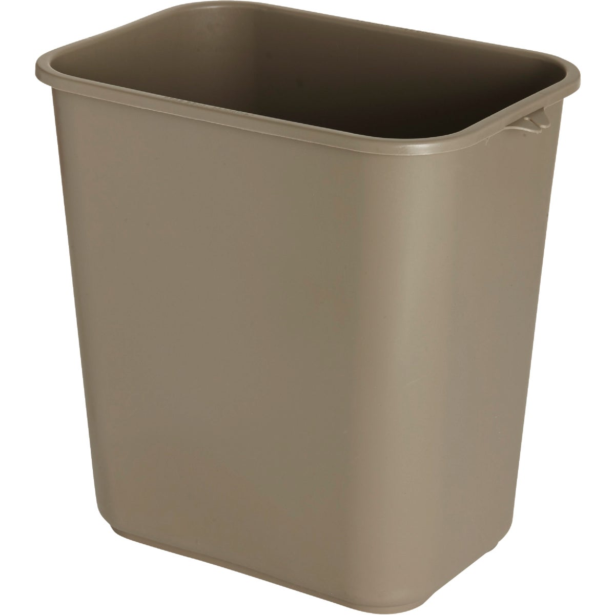 28-1/8QT BGE WASTEBASKET - FG295600BEIG by Rubbermaid Comm Prod