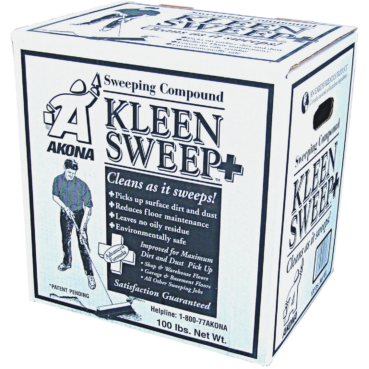 100LB BOX KLEEN SWEEP - 1816 by Kleen Products Llc