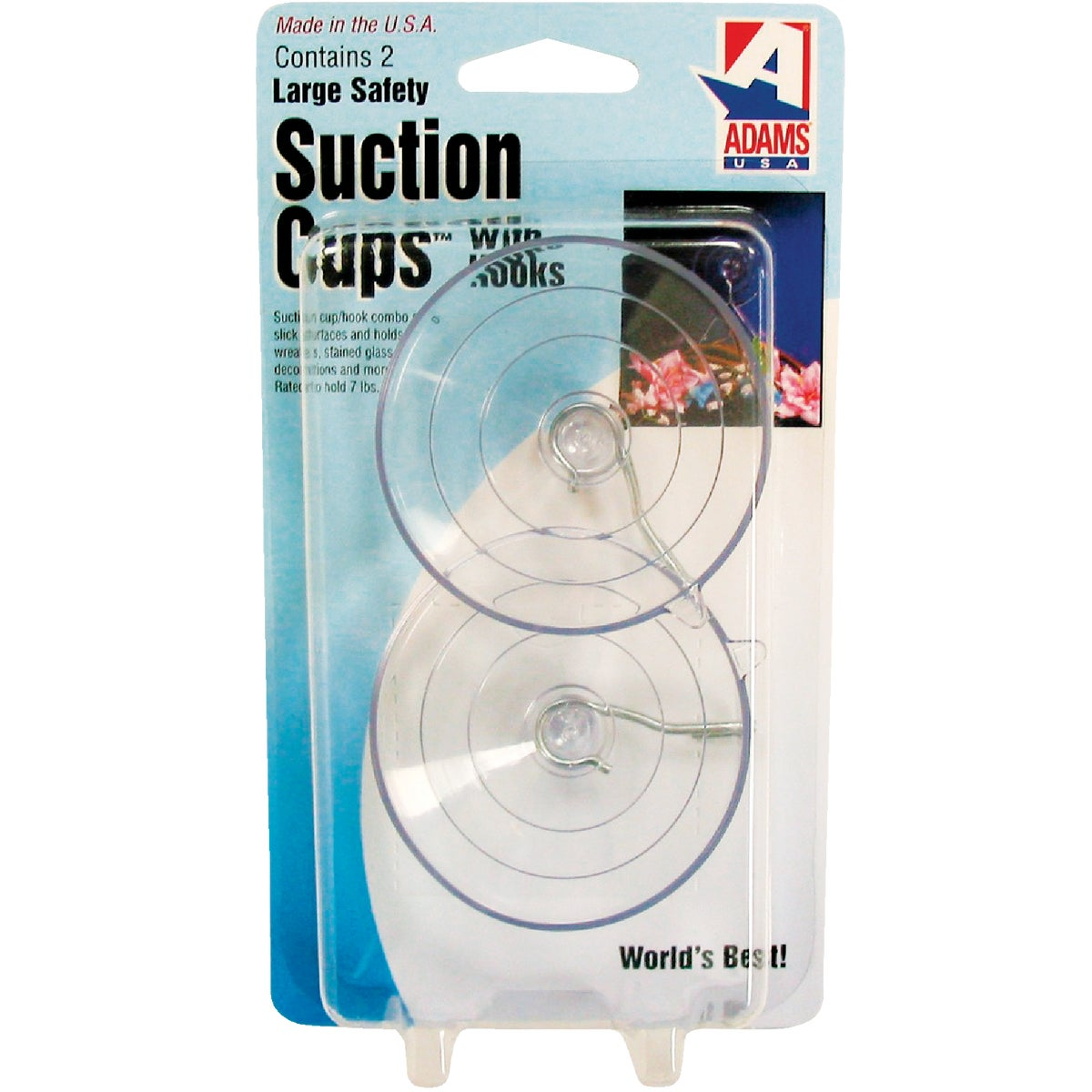 LARGE SUCTION CUP - 6000-74-3040 by Adams Mfg