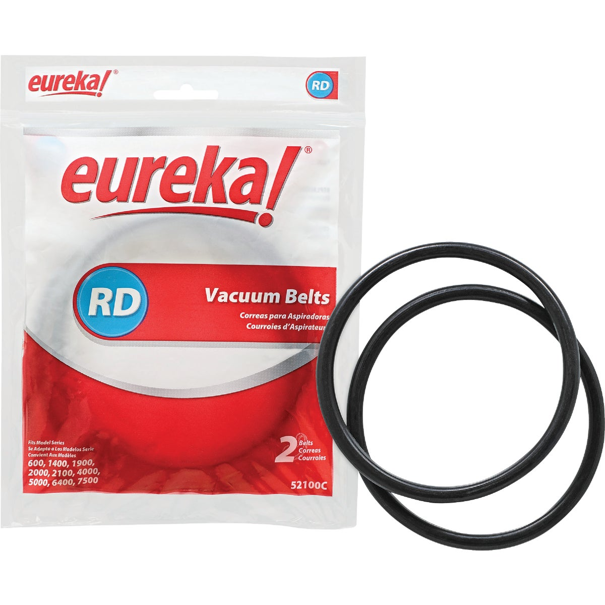 EUREKA STYLE RD VAC BELT - 52100C-12 by Electrolux Home Care