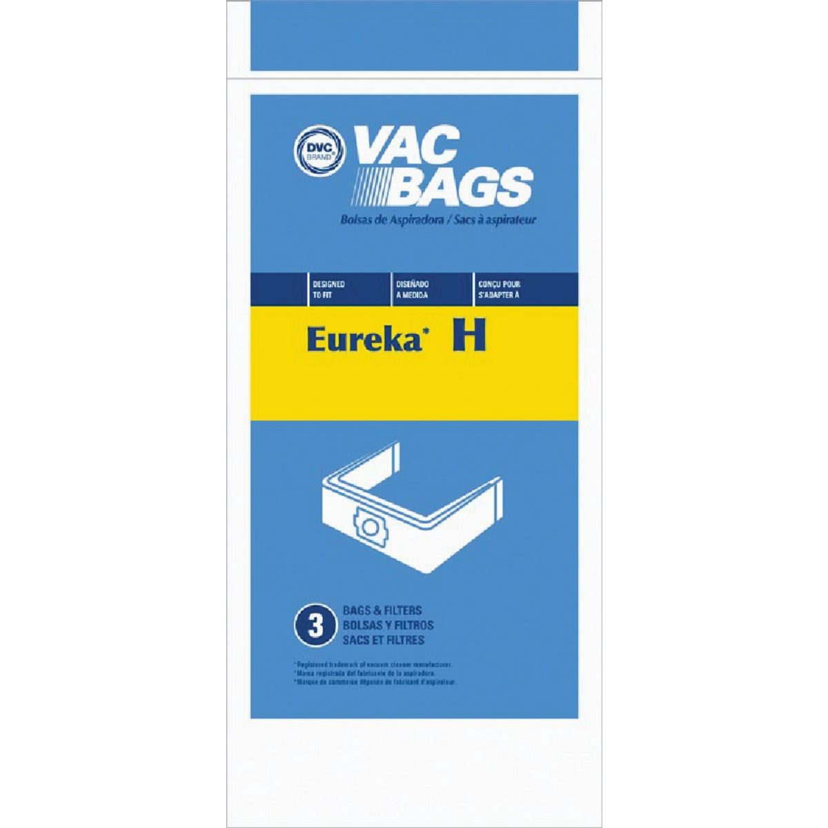 TYPE H VAC CLEANER BAG