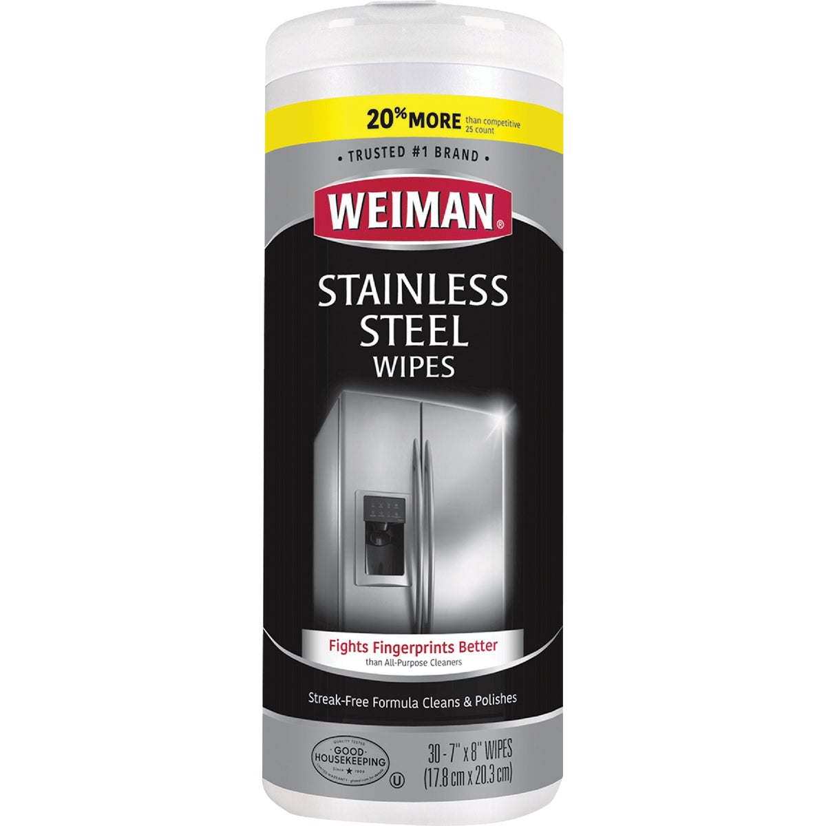 STAINLESS STEEL WIPES - 92 by Weiman Products Llc