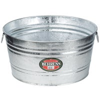 Behrens Hot-Dipped Round Utility Tub, 0