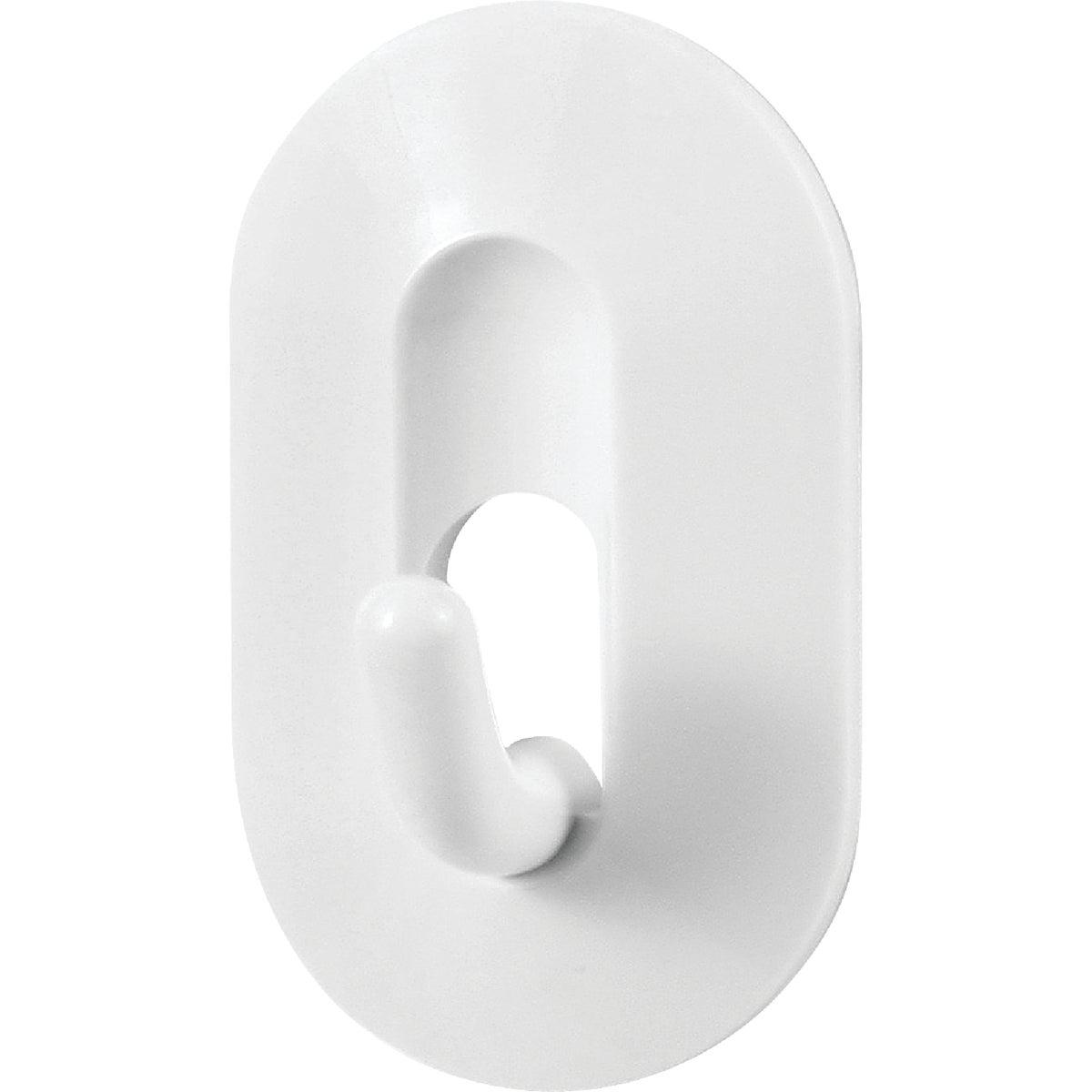 WHITE MAGNETIC HOOK