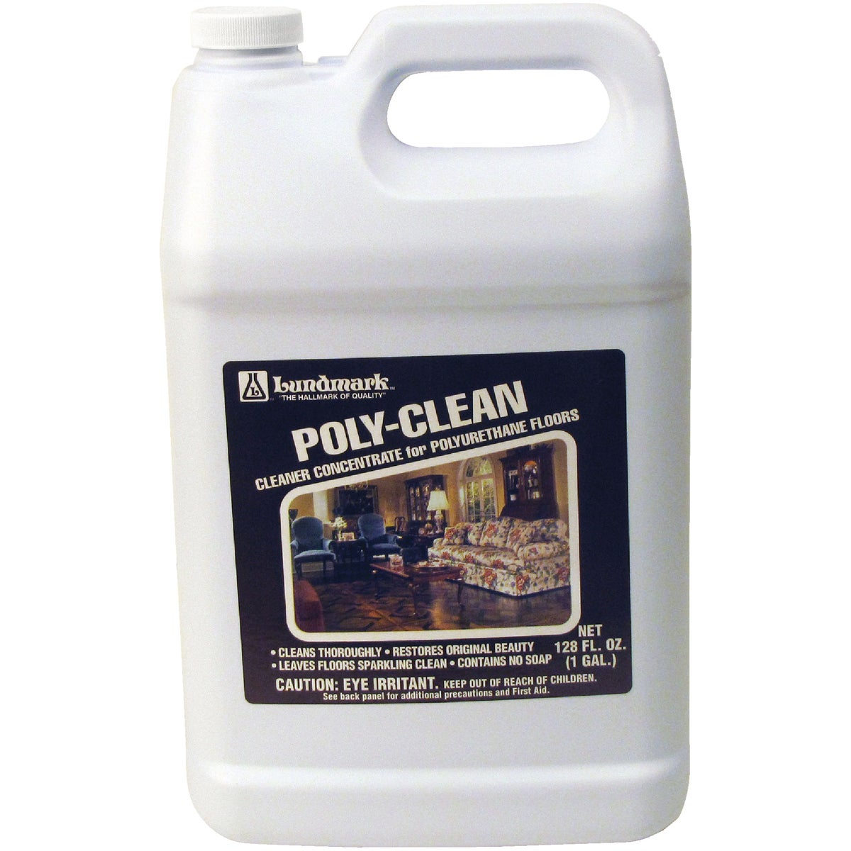 GALLON POLY-CLEAN - 3227G01-2 by Lundmark Wax Co