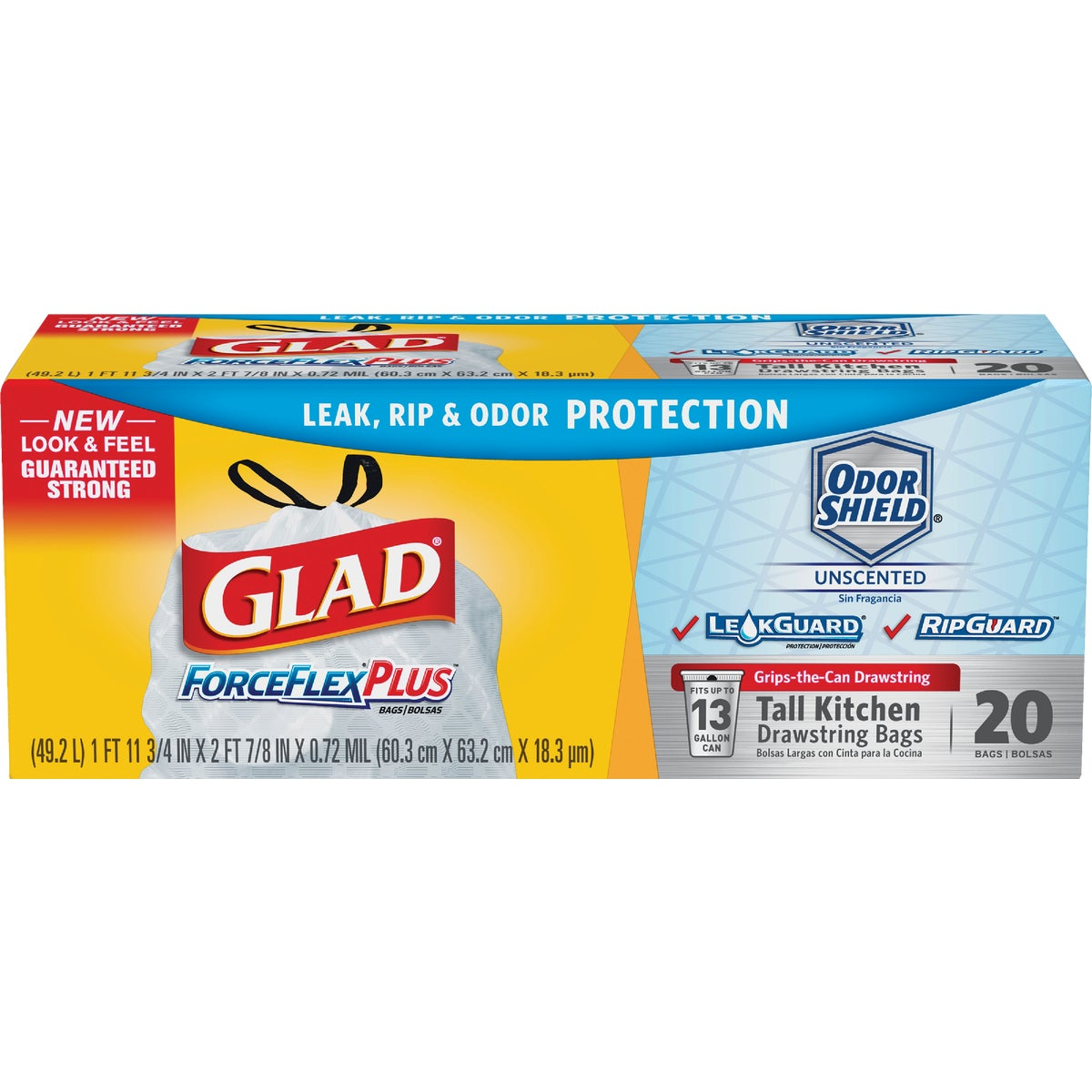 13GAL/20CT TRASH BAGS - 70353 by Clorox/home Cleaning