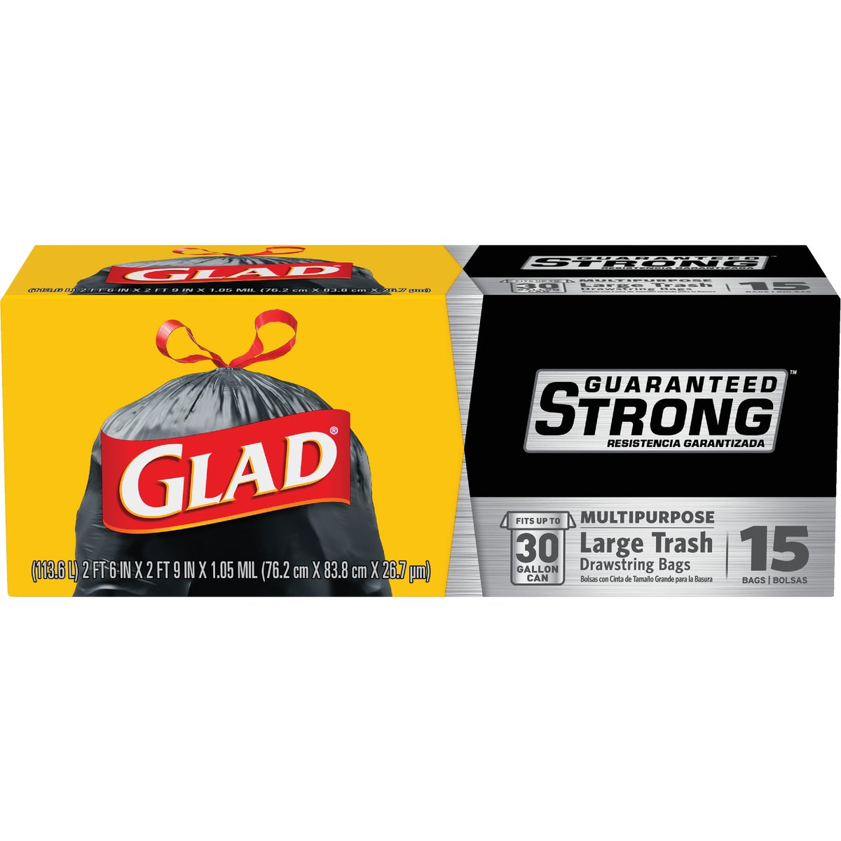 30GAL/14CT TRASH BAGS - 70419 by Clorox/home Cleaning