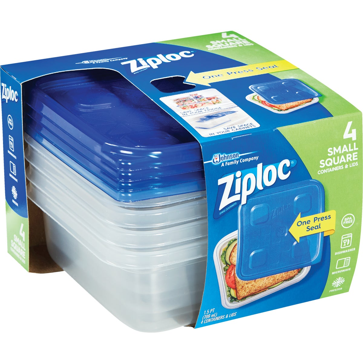 5 PACK FREEZER CONTAINER - 10878 by Sc Johnson