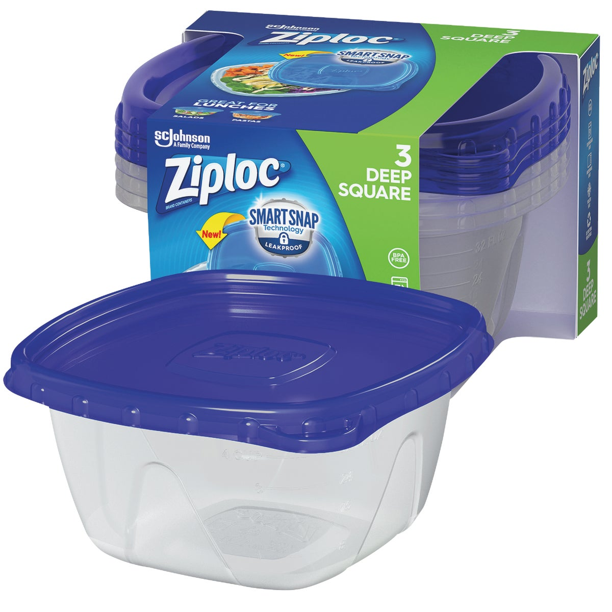 4 PACK FREEZER CONTAINER - 10880 by Sc Johnson