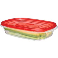 Rubbermaid 3PC RECTANGLE CONTAINERS FG7F55RE-TCHIL
