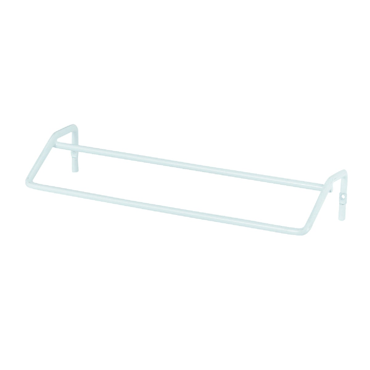WHITE DOUBLE TOWEL BAR