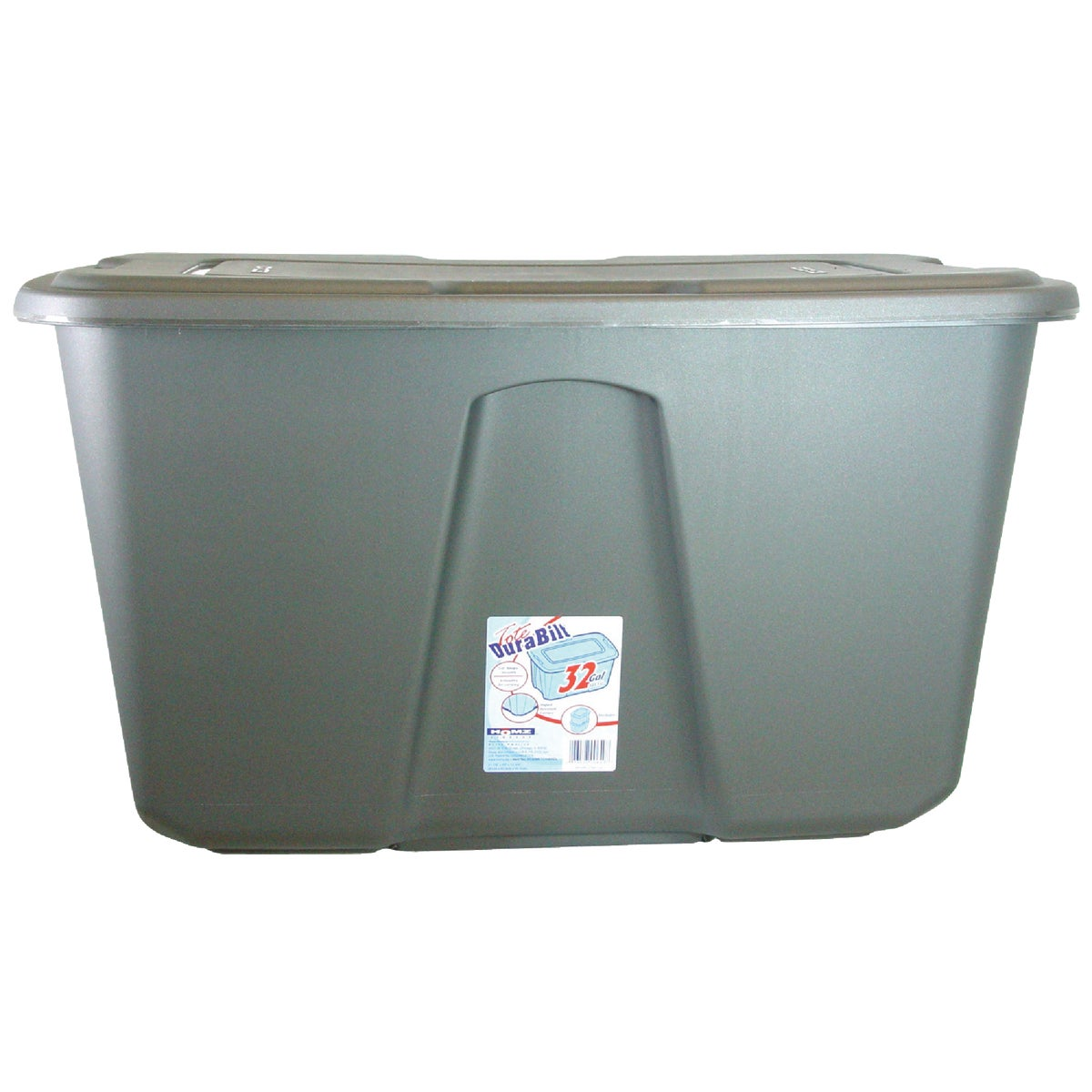 32 GALLON TOTE BOX - 6530RMC.06 by Homz/ Tamor