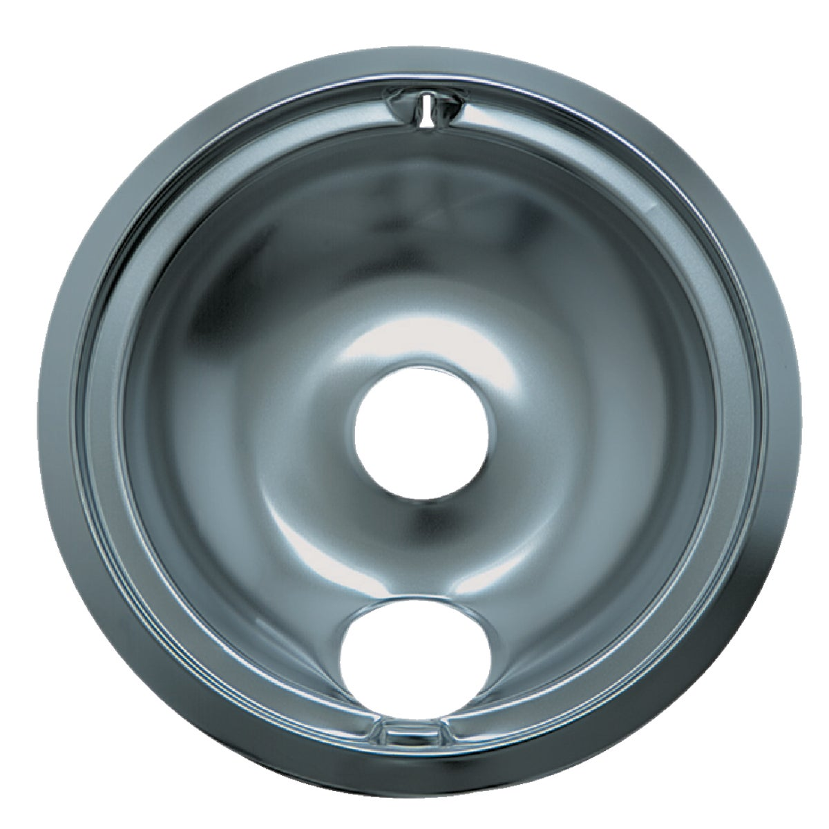 "8"" CHROME DRIP PAN - 120A by Range Kleen Mfg Inc"