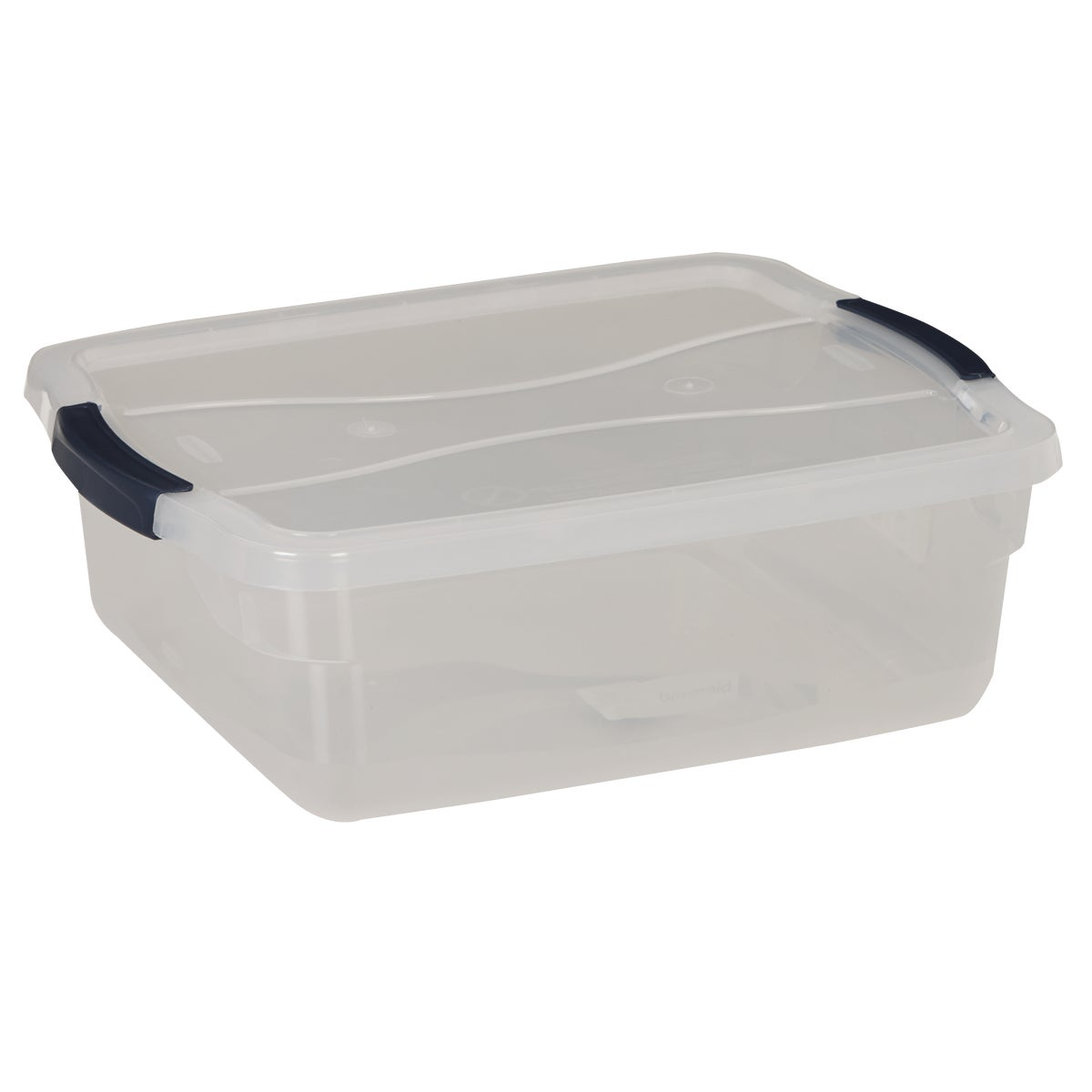 15QT LATCHING STORAGE - 3Q2200CLMCB by Rubbermaid Home