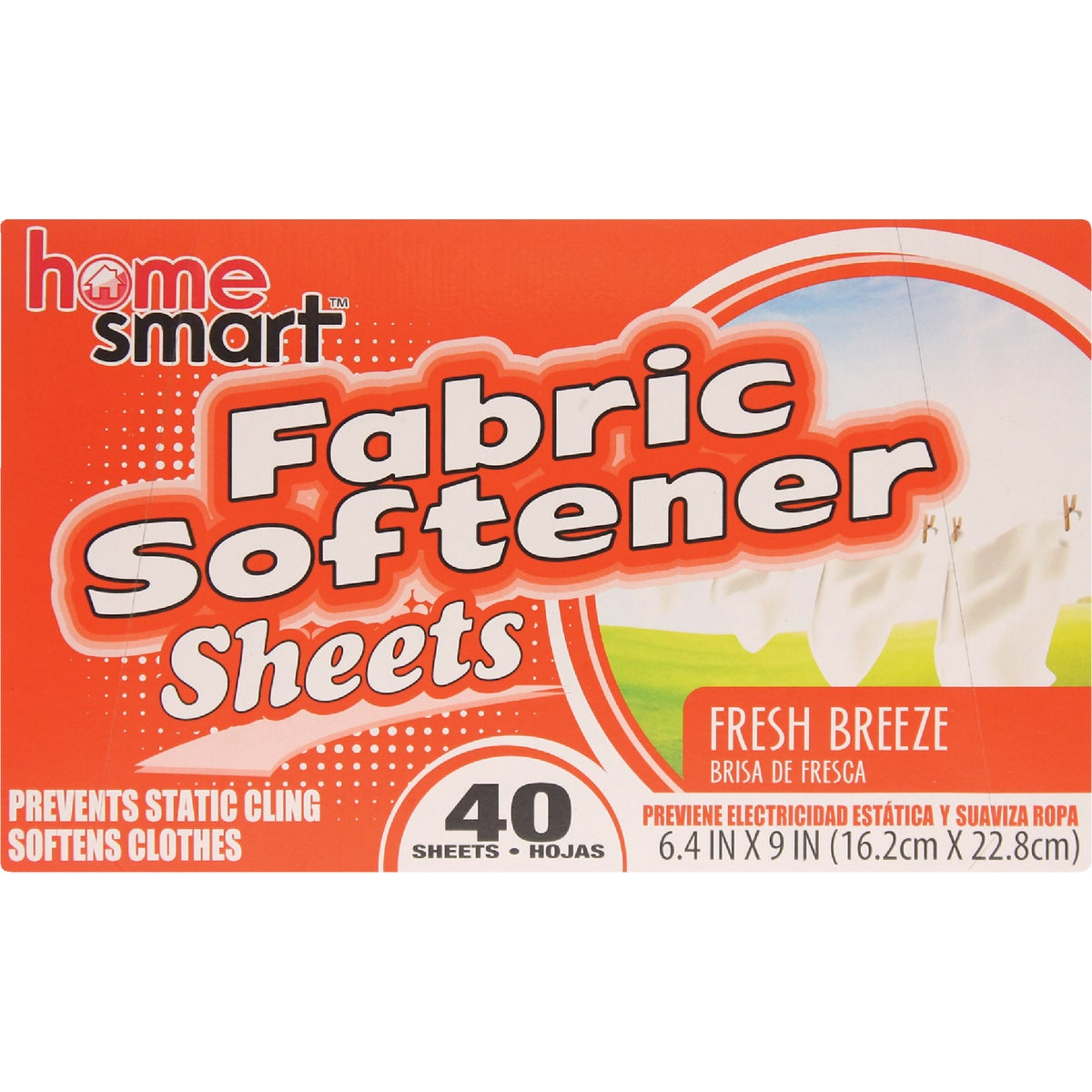 40Fabric Softener Sheets