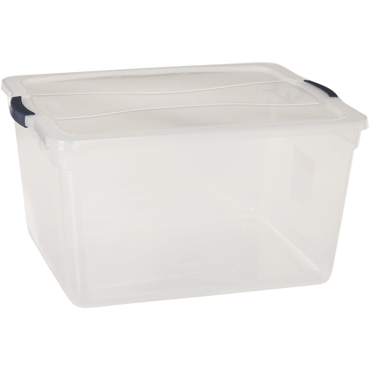 71QT LATCHING STORAGE - 3Q3200CLMCB by Rubbermaid Home