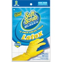Lehigh Spontex MEDIUM RUBBER GLOVES 69985