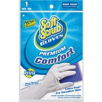 Lehigh Spontex MEDIUM RUBBER GLOVES 21427
