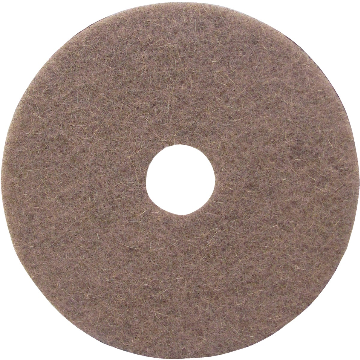 "17"" NATURAL BUFFING PAD - TKL17N by Lundmark Wax Co"