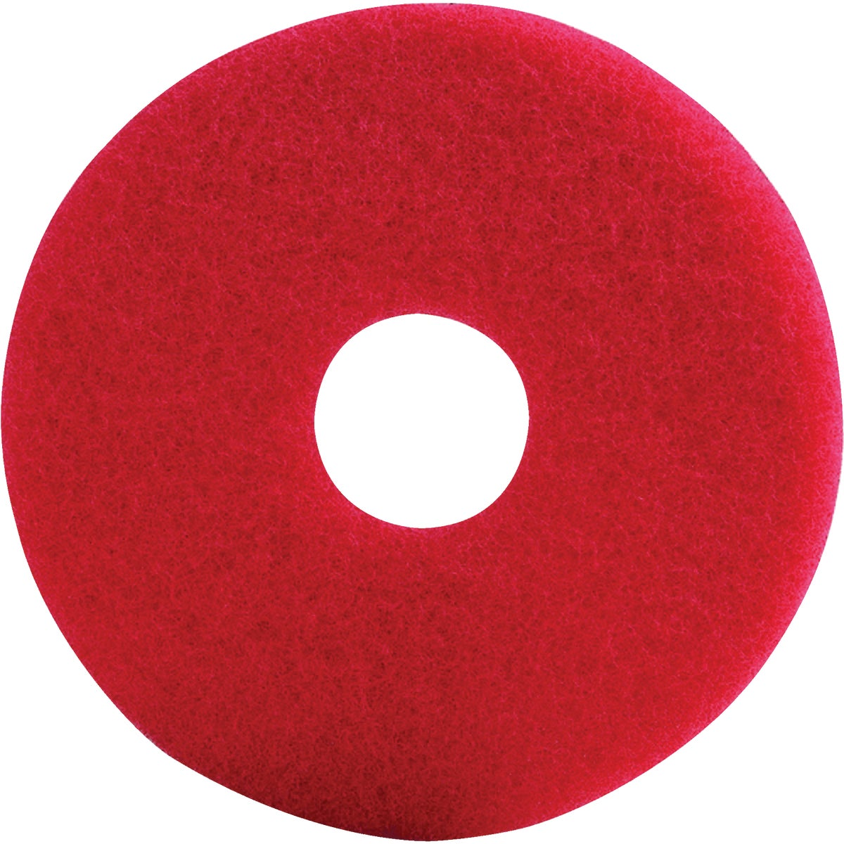 "17"" RED SCRUB PAD - TKL17R by Lundmark Wax Co"