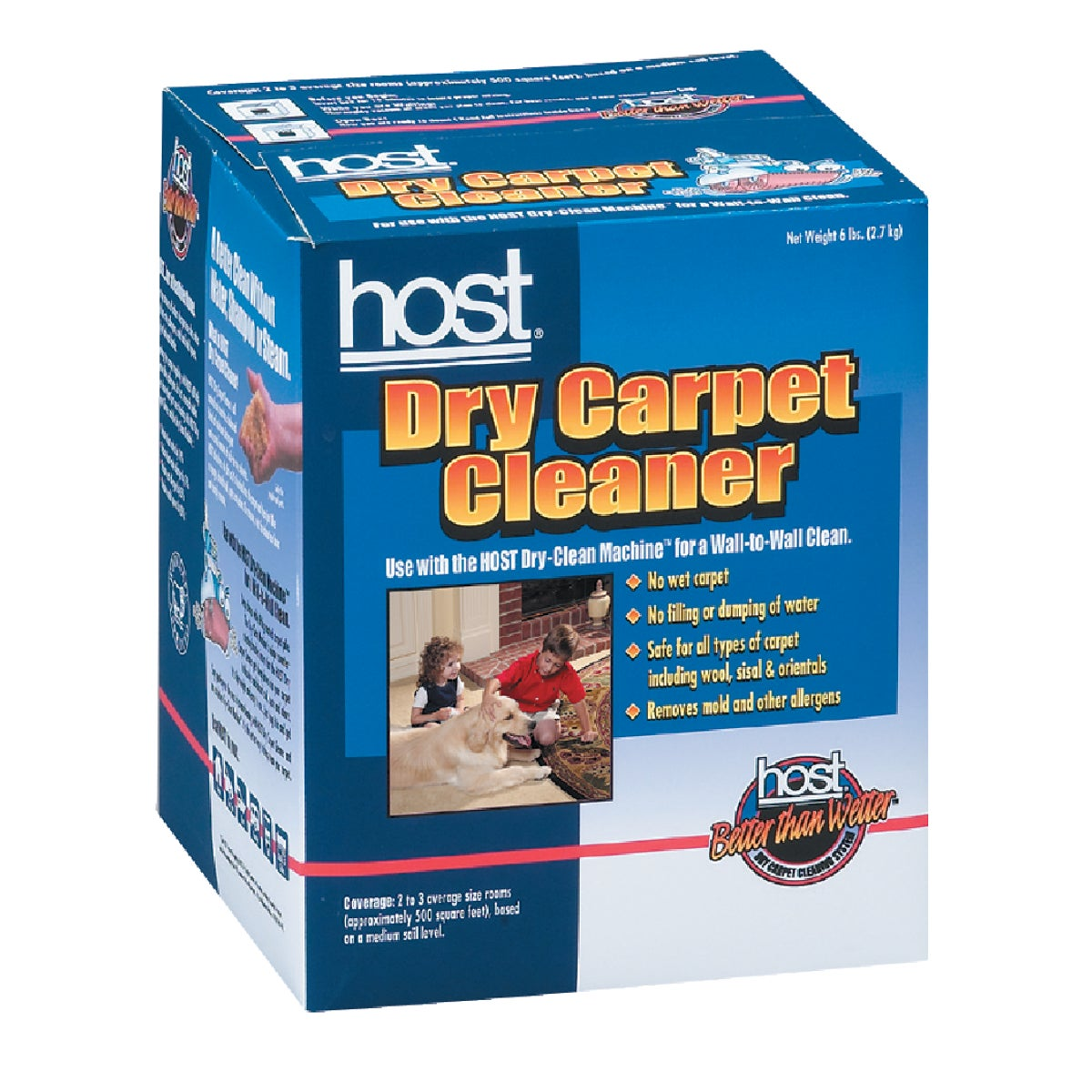 6LB DRY CARPET CLEANER