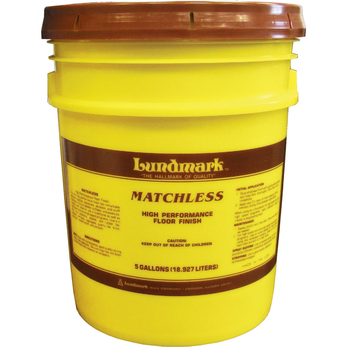 5GAL FLOOR FINISH - 3306G05 by Lundmark Wax Co