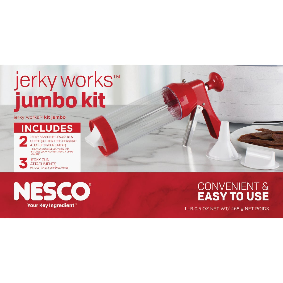 JUMBO JERKY WORKS KIT - BJX-5 by Metal Ware Corp