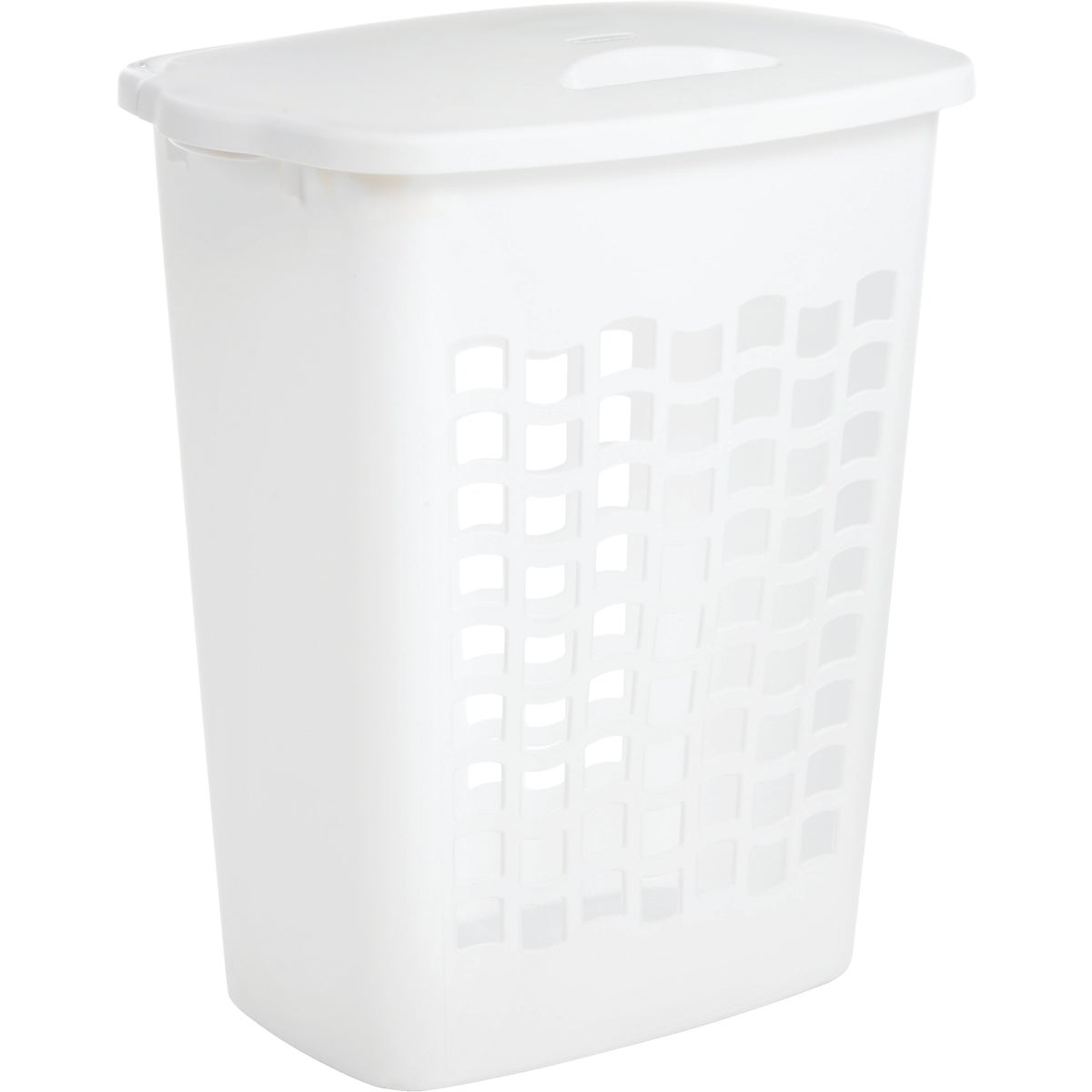 2.2BU WHT CLOTHES HAMPER - 2656TPWHT by Rubbermaid Home