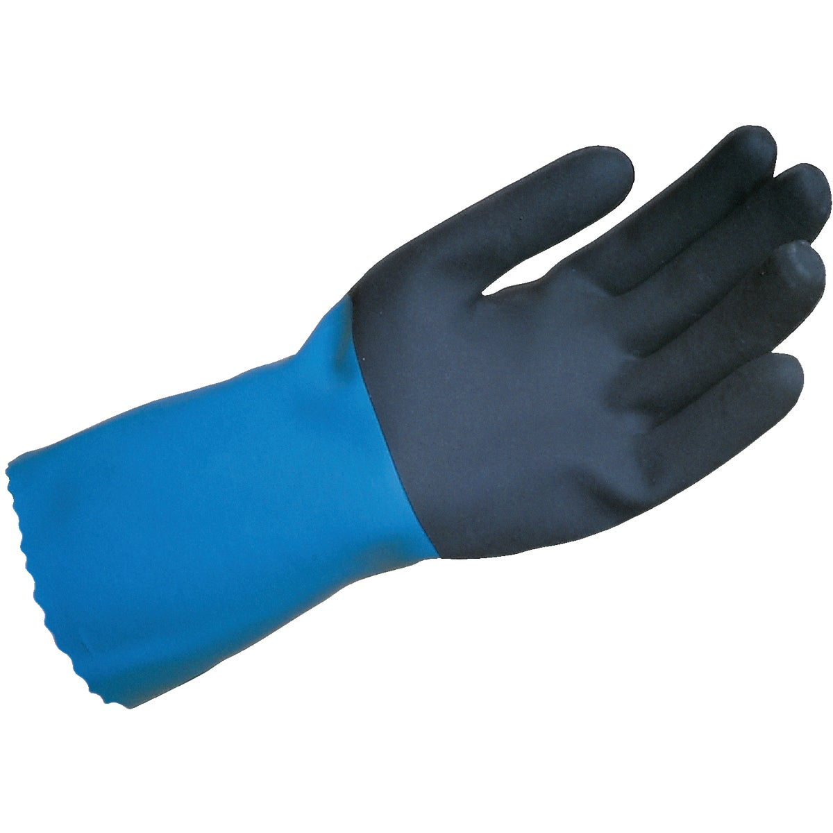 MEDIUM RUBBER GLOVES - 33002 by Lehigh Spontex