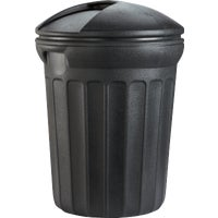 United Solutions 32GAL ROUND TRASH CAN TB0006