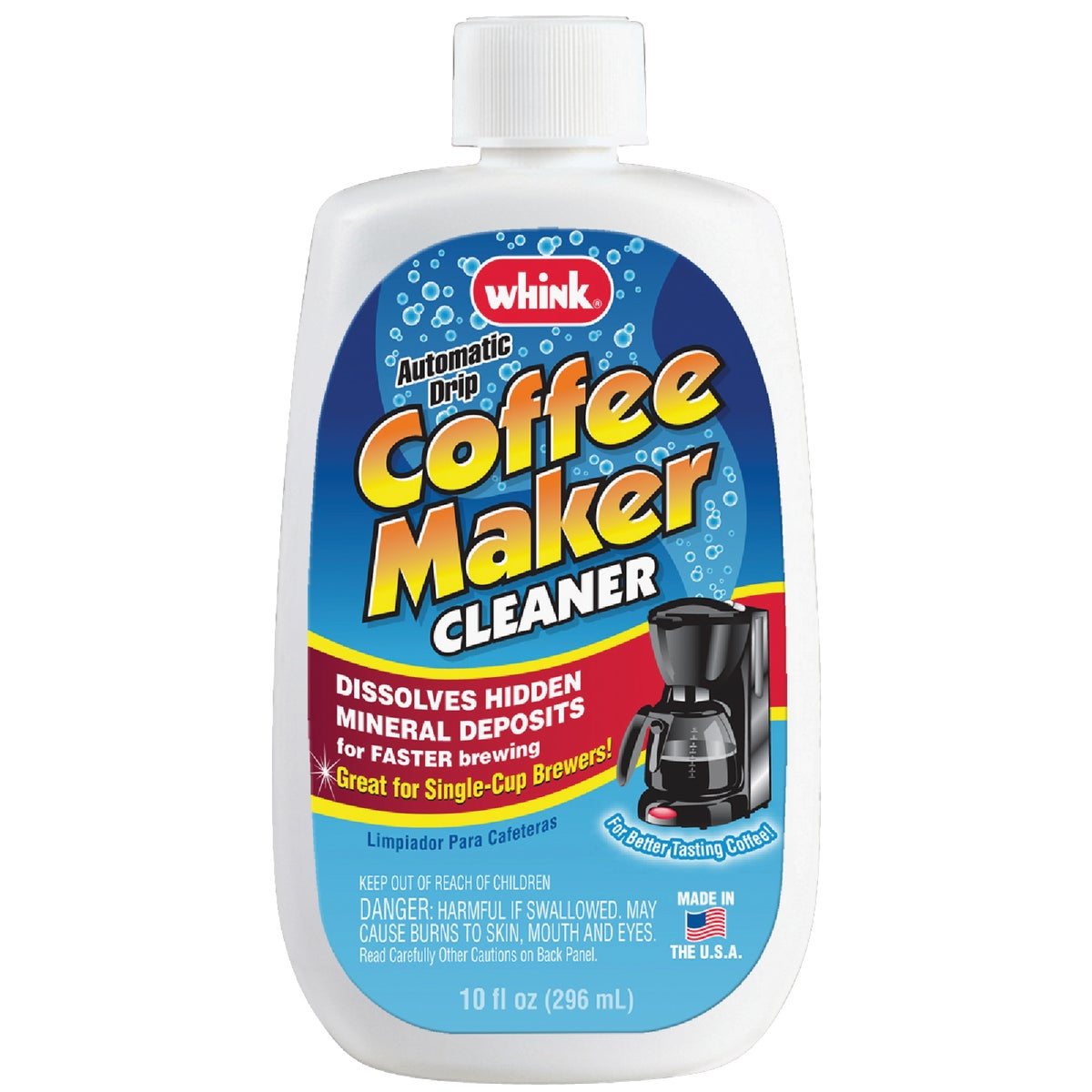 COFFEEMAKER CLEANER - 30081 by Whink Products Hotle