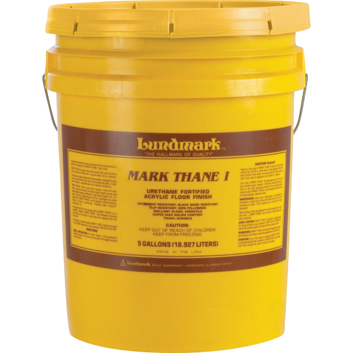 5GAL ACRY FLOOR FINISH - 3293G05 by Lundmark Wax Co