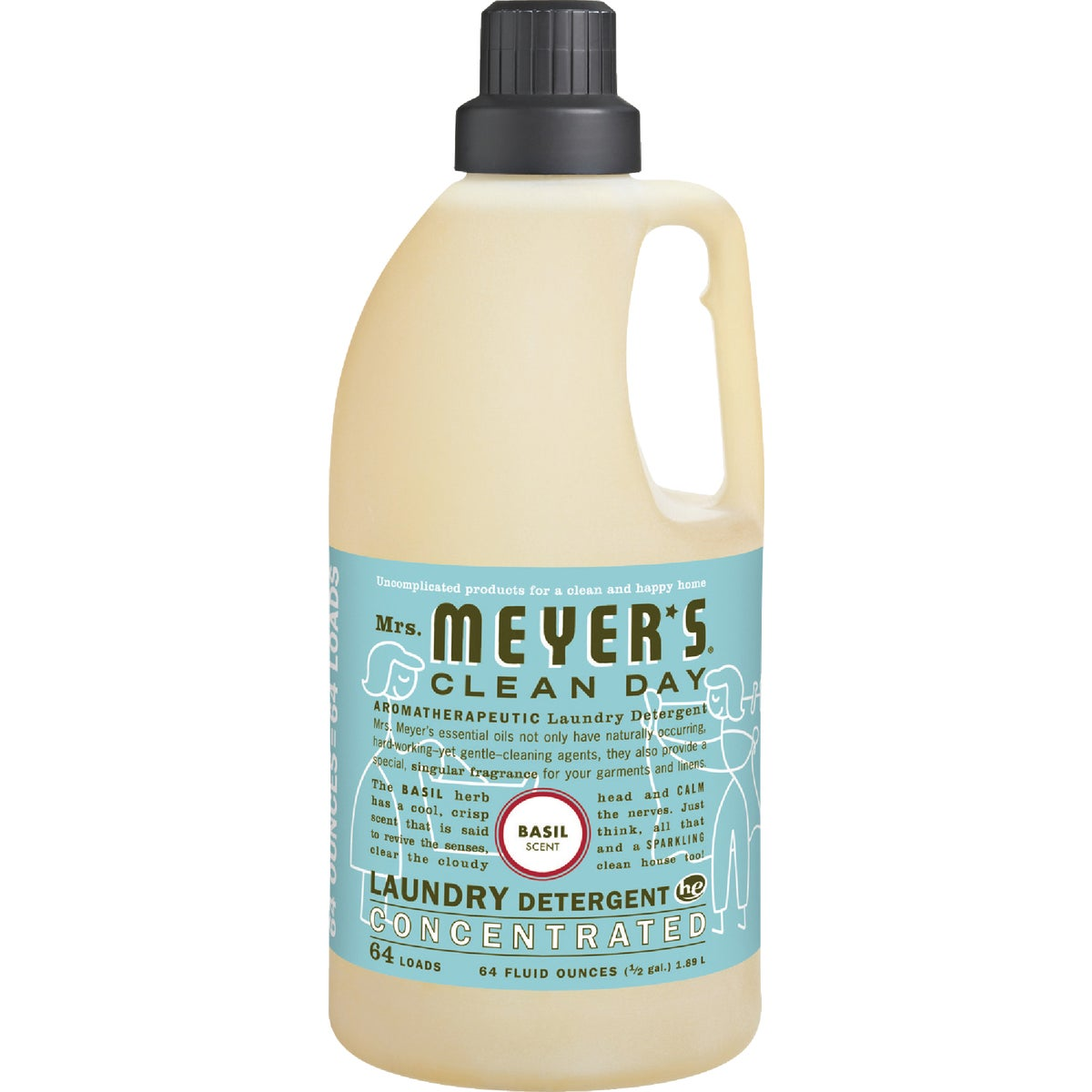 Mrs Meyer's Clean Day Concentrated Laundry Detergent, 14831