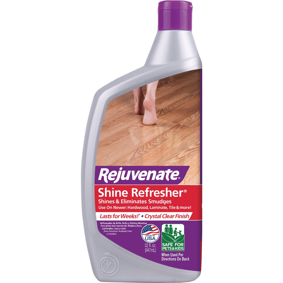32OZ FLOOR CLEANER/SHINE - RJRF32RTU by For Life Products