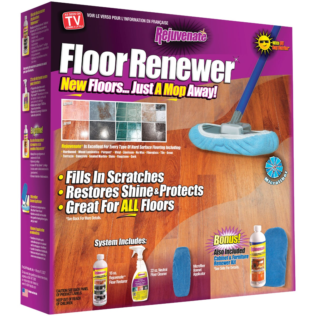 HOME RENEW CLEANER KIT - RJ16FLOKIT by For Life Products