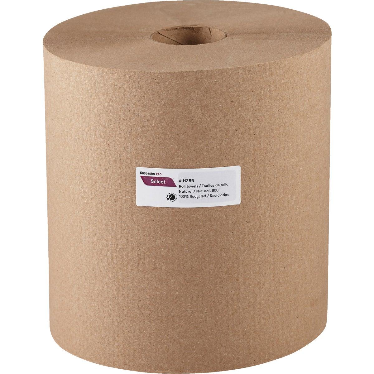 700' Nat Hard Roll Towel
