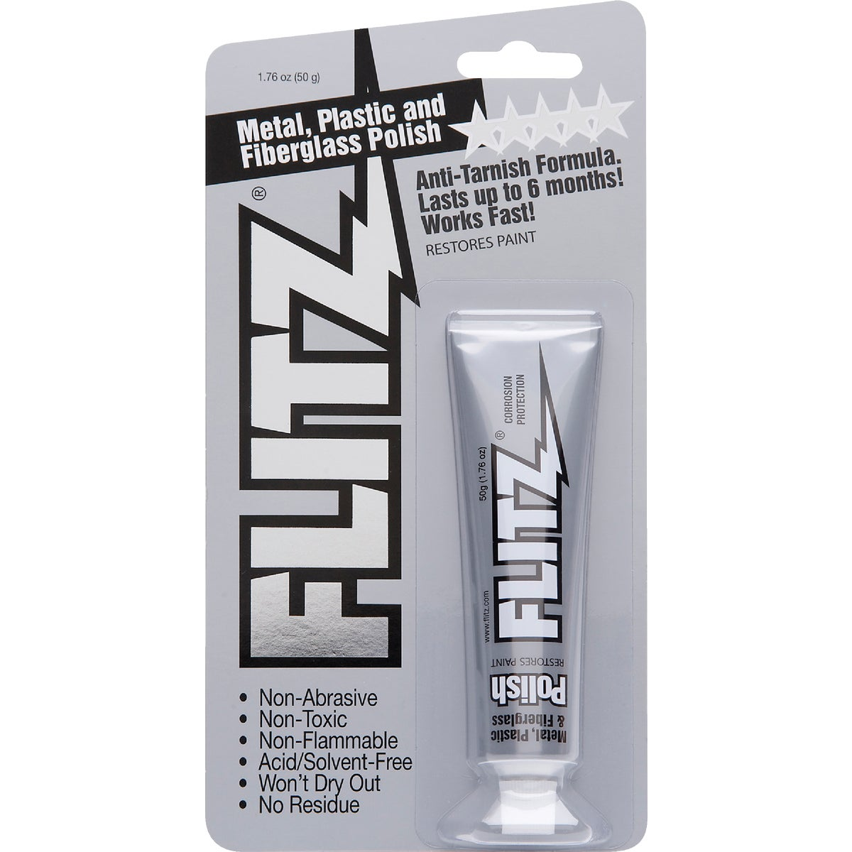 Flitz Metal, Plastic & Fiberglass Paste Polish, BP 03511