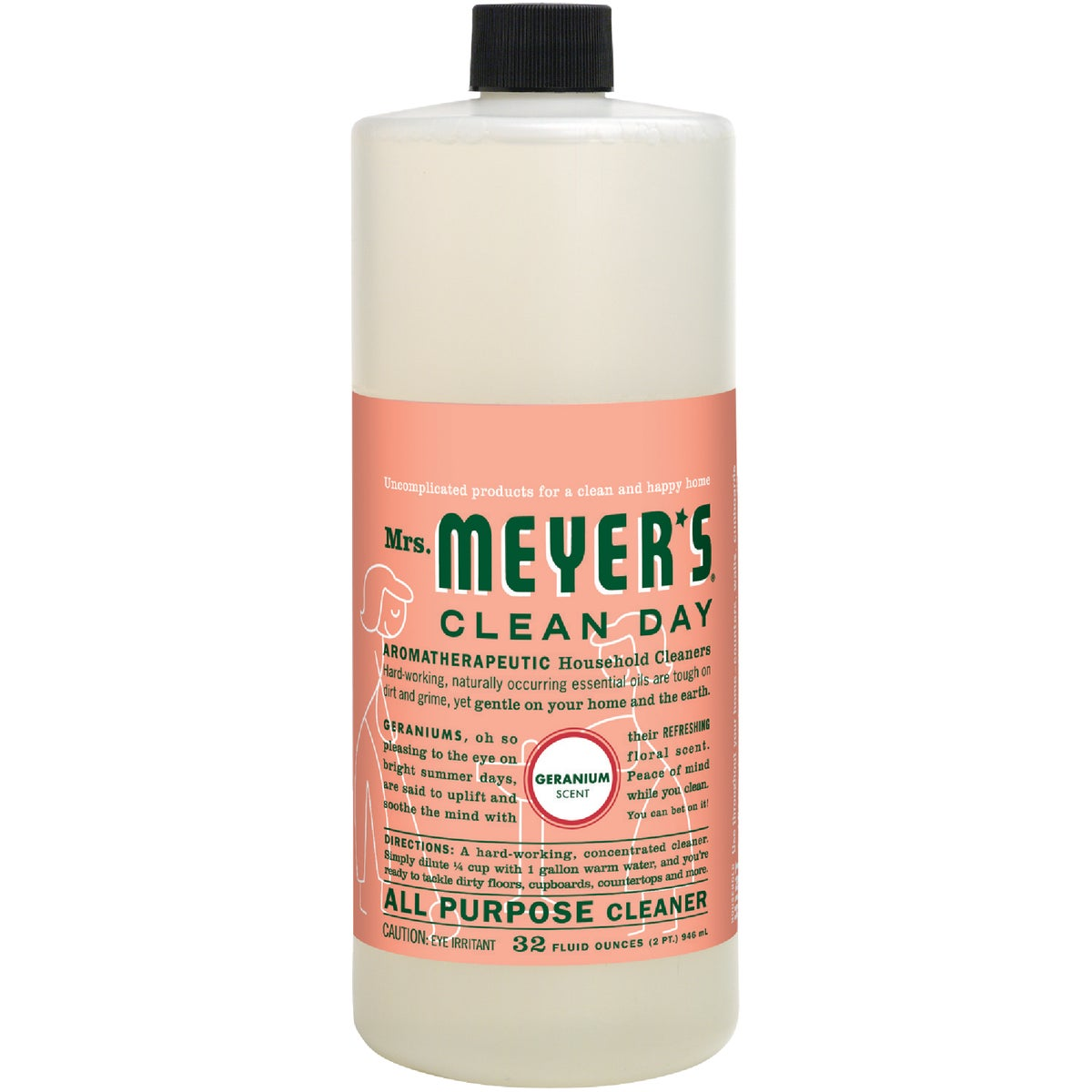GERANIUM ALL PUR CLEANER - 13116 by Mrs Meyers Clean Day