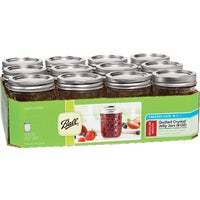 Jarden Home Brands 12 8OZ DELUXE JELLY JARS 1440081200