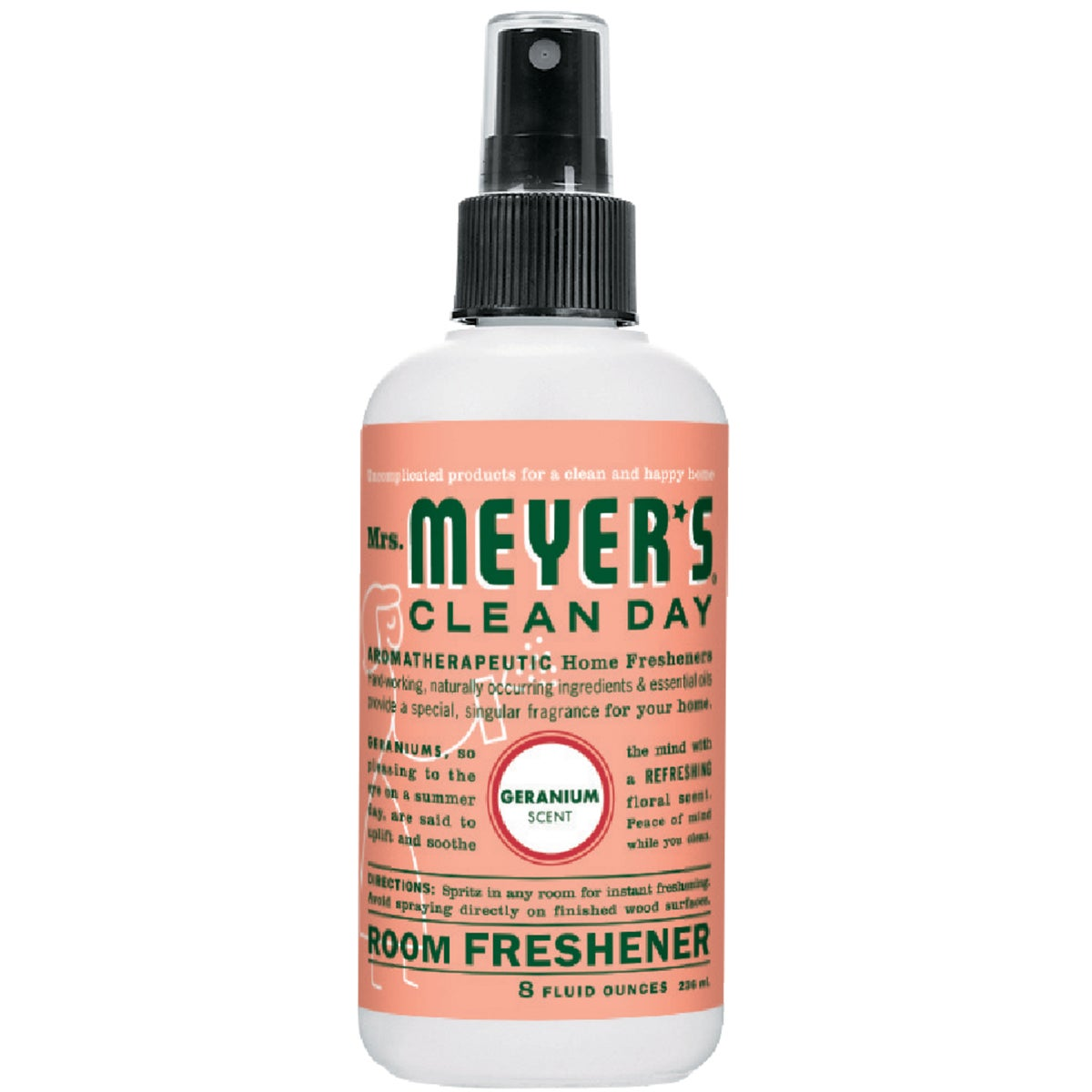 GERANIUM ROOM FRESHENER - 14353 by Mrs Meyers Clean Day