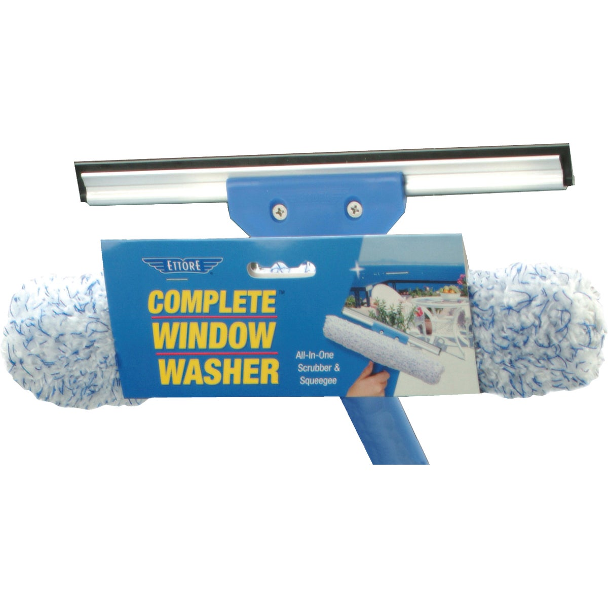 WINDOW SCRUBBER/SQUEEGEE - 15010 by Ettore Products Co