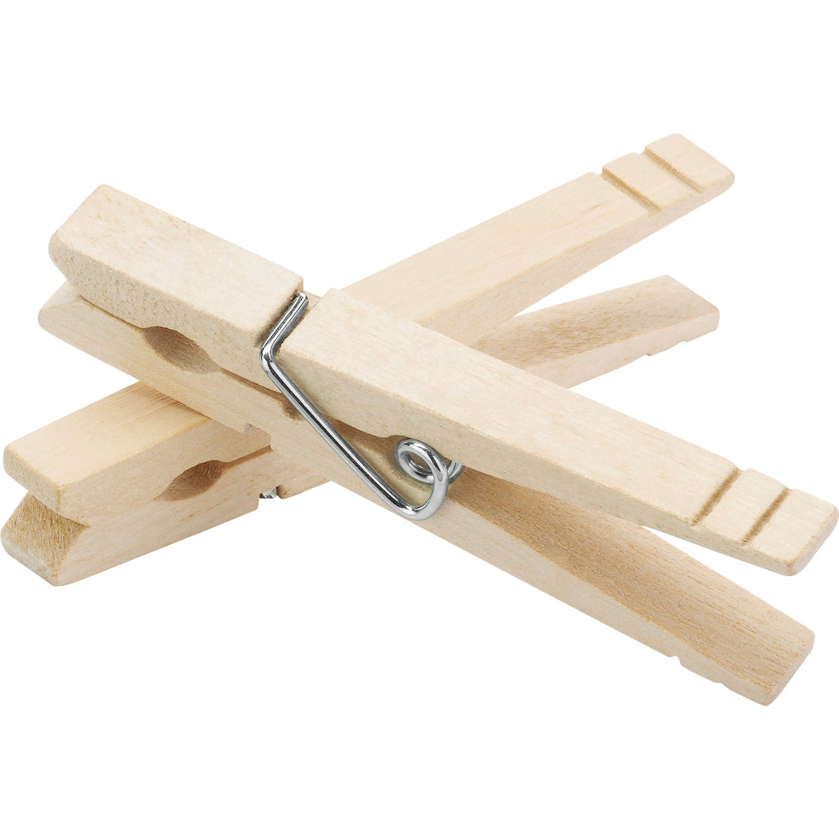 WOODEN SPRING CLOTHESPIN - 1220067 by Homz  Seymour