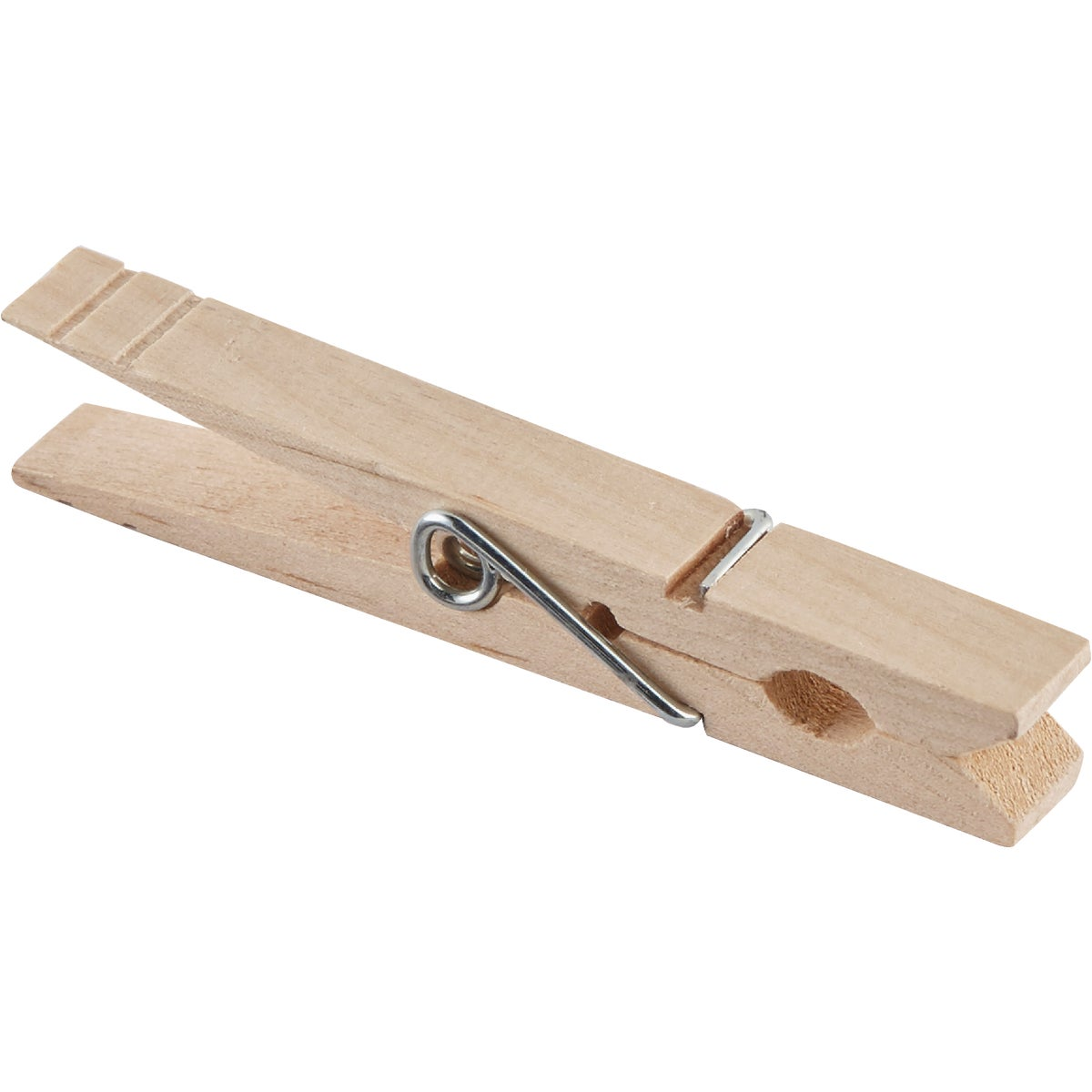 WOODEN SPRING CLOTHESPIN - 1220216 by Homz  Seymour