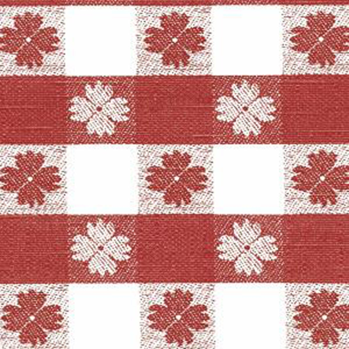 RED CHECK FLN BACK VINYL - 0243 by Nordic Shield/epv