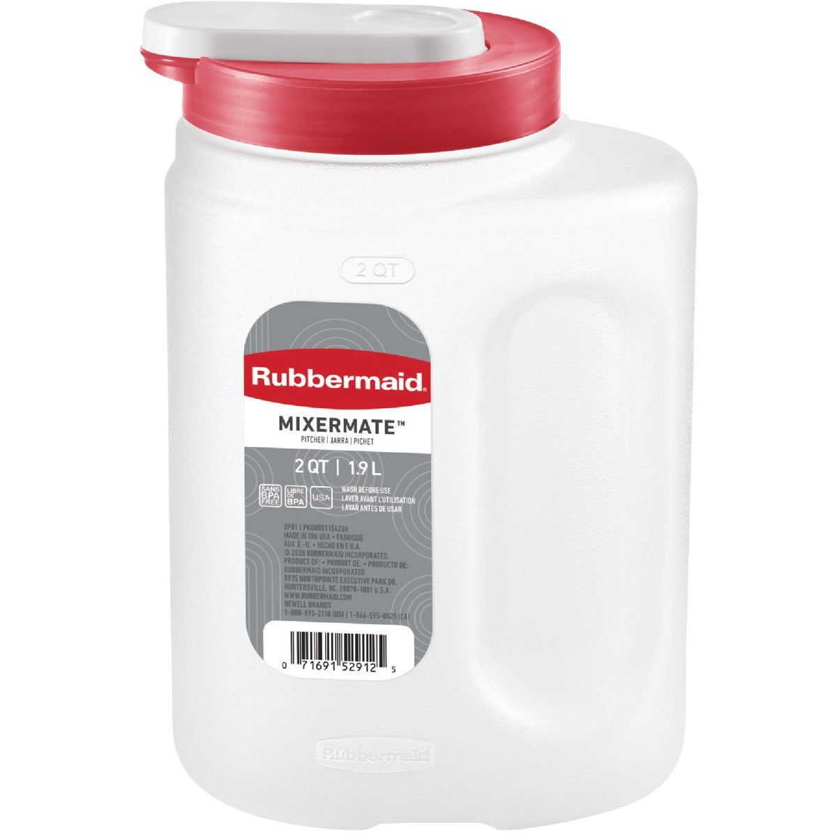3QT BEVERAGE STRG BOTTLE - 1776501 by Rubbermaid Home