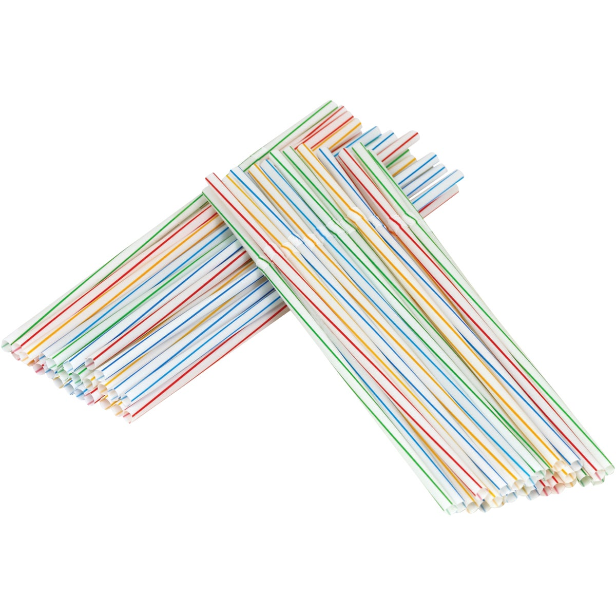 50PC FLEX NECK STRAWS - 1094975 by World Kitchen  Ekco